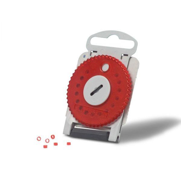 Cerumenschutz Audio Service Filter HF4 rot