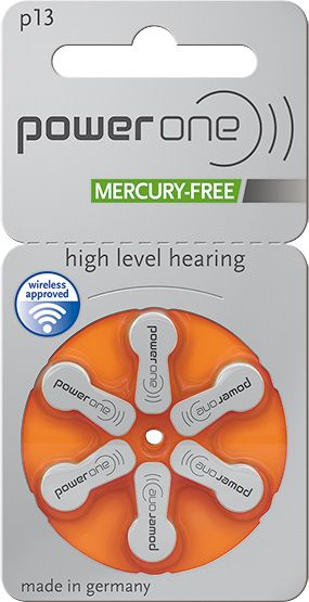 Power One p13 Zink-Luft Mercury-free