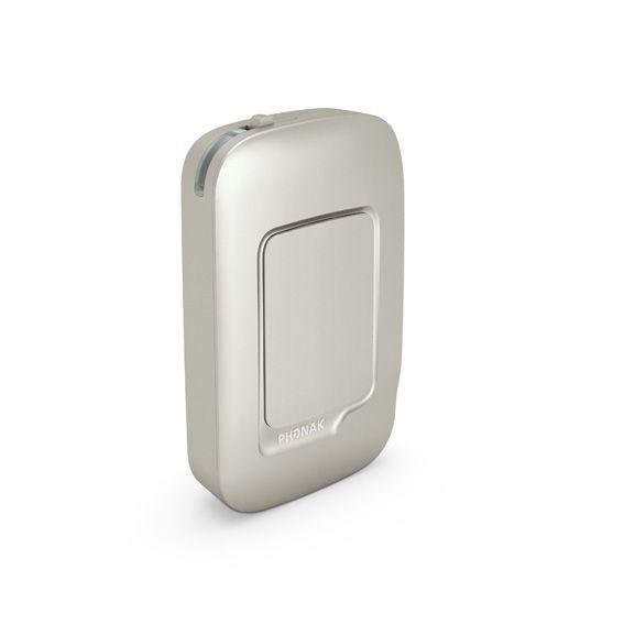 Phonak ComPilot AIR 2 Fernbedienung - perspektivisch