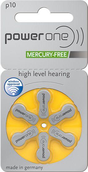Power One p10 Zink-Luft Mercury-free
